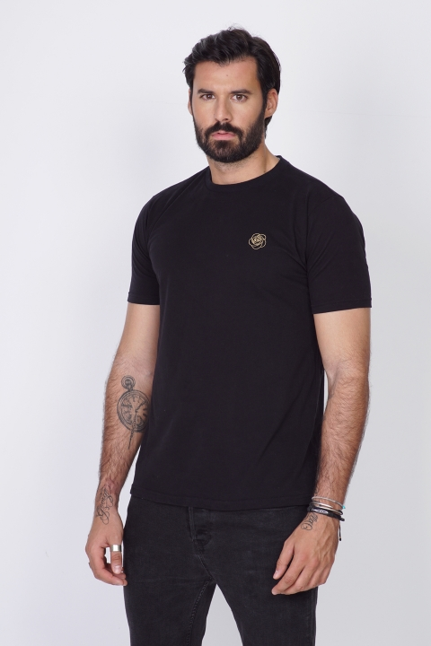DIMIJO GOLD BLACK TSHIRT