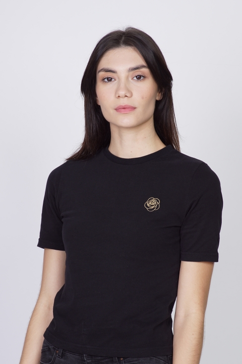 DIMIJO BASIC GOLD TSHIRT WOMAN