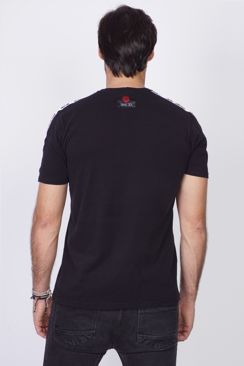 DIMIJO WIDE RUN BLACK TSHIRT