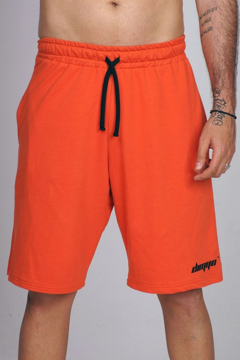 orange signature dimijo shorts