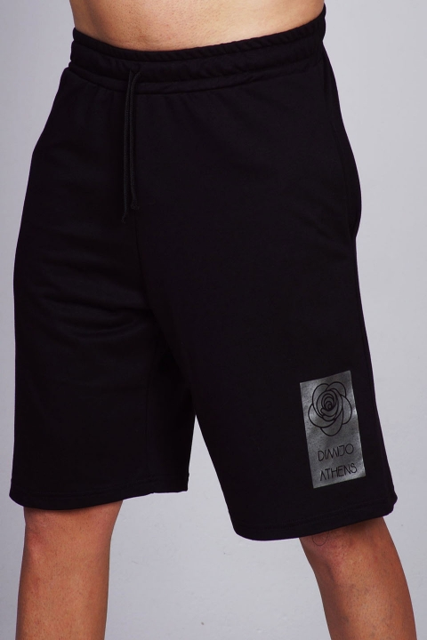 silver sign shorts dimijo