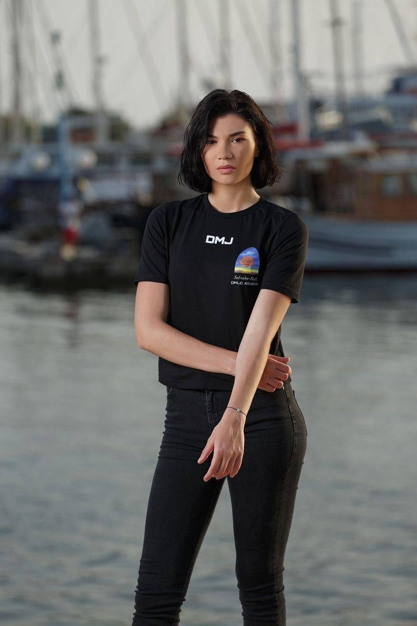 black tshirt dimijo