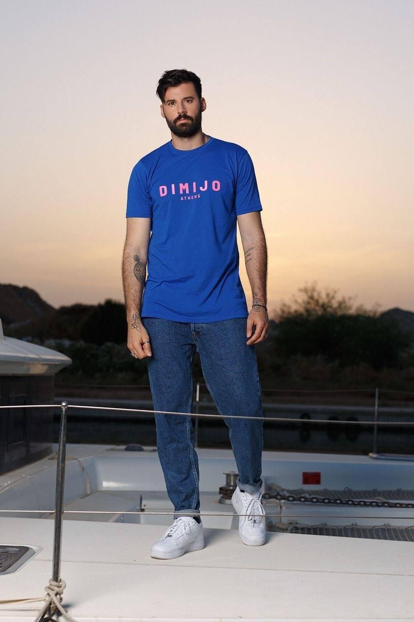dimijo tshirt jellyfish blue